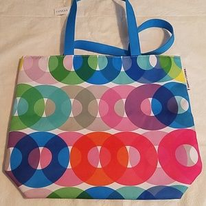 Kapitza x Clinique Circle Design Tote NEW